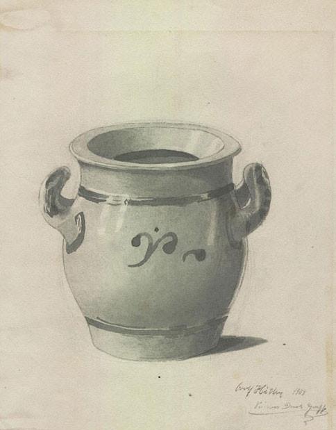 Наброски Адольфа Гитлера были проданы на аукционе. Изображение № 11.