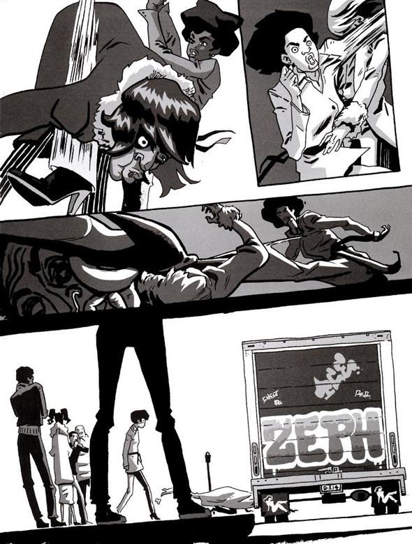 Комиксы легенды хип-хопа. Изображение № 13.
