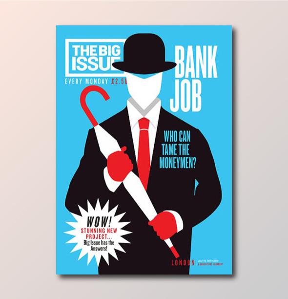 Обложки недели: Журнал New Balance, The Big Issue и скандальная обложка о Папе Римском . Изображение № 6.