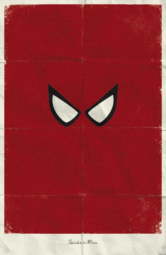 Минималистичные постеры для Marvel Comics. Изображение № 18.
