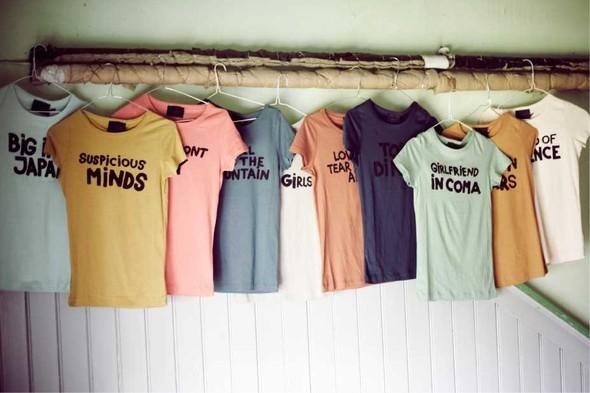 Музыкальные футболки от Ganni. Изображение № 1.