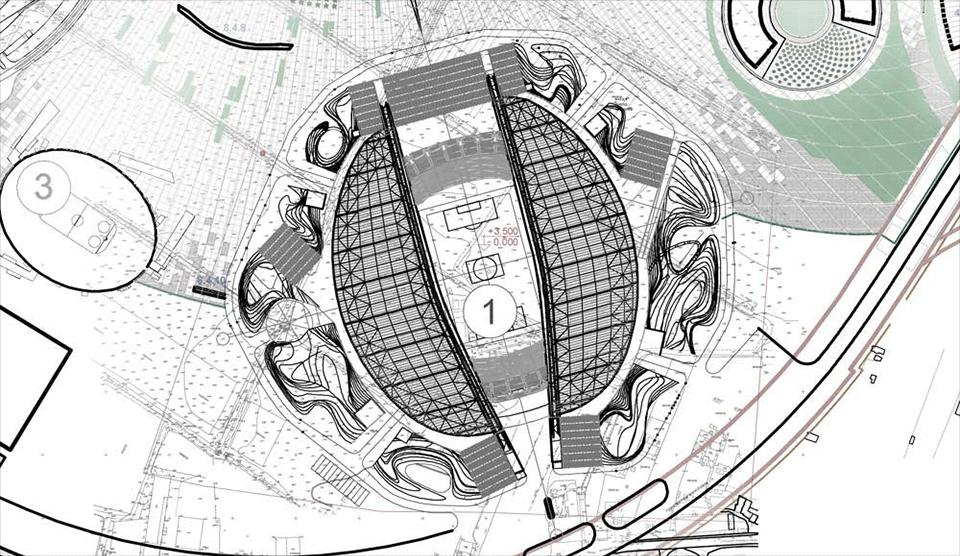 Деймон Лавелль из Populous построил главный стадион в Сочи. Изображение № 6.