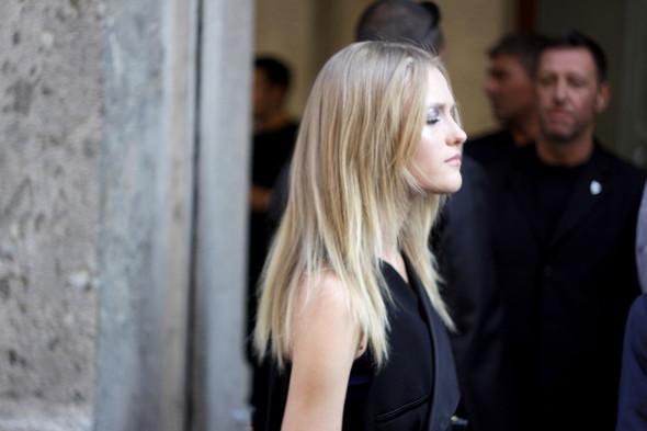 Milan Fashion Week: Модели после показов. Изображение № 14.