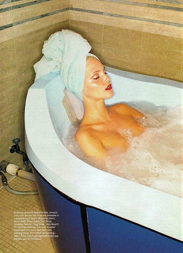 """Diary ofa Spa"". Vogue'94. Изображение № 7."