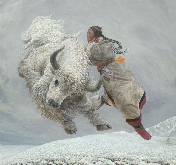 Wang Yi Guang. Feitain, или летающий пух. Изображение № 3.