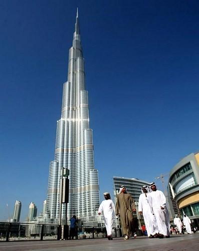 Небоскрёб Бурдж-Халифа, Дубай. Изображение № 6.