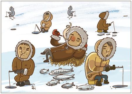 Ироничные иллюстрации Сергея Ратникова. Изображение № 11.