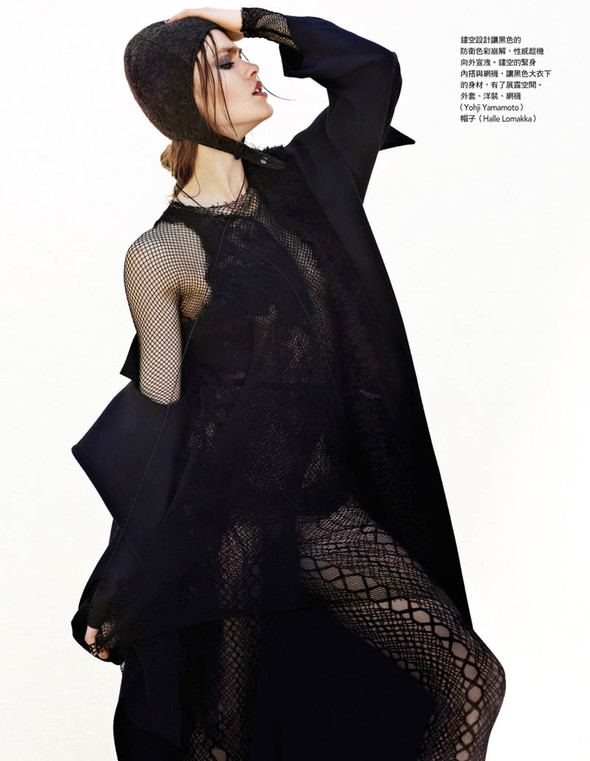 Fashion съемки: Vogue China & Taiwan October 2011. Изображение № 12.