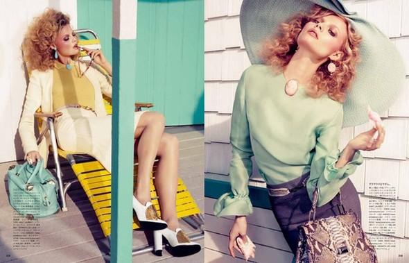 Магдoлена Фраковяк для Vogue Japan. Изображение № 6.