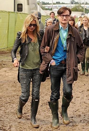 Изображение 1. Уличный стиль на фестивале Glastonbury.. Изображение № 1.