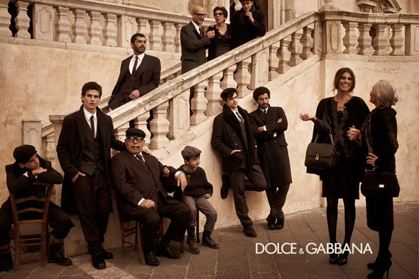 Кампании: Balenciaga, Celine, Dolce & Gabbana и другие. Изображение № 14.
