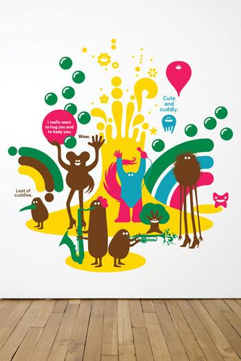 Виниловый мир от француского дизайнера Genevieve Gauckler. Изображение № 6.
