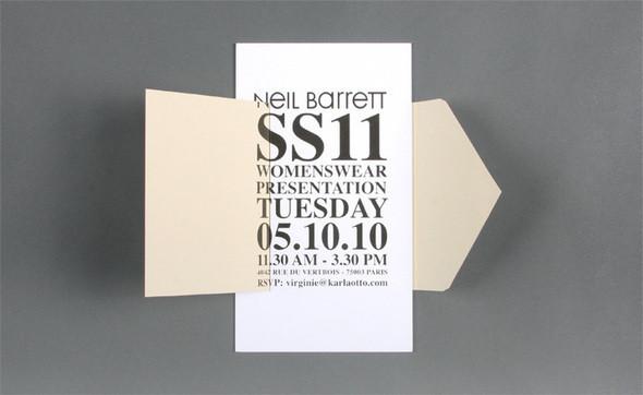 Изображение 45. Womenswear collections S/S 2011: show invitations.. Изображение № 45.