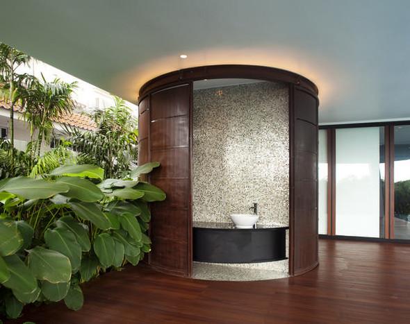 «Трехпалубная» вилла от Aamer Architects. Изображение № 8.