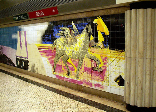 Лиссабон. Метро. Изображение № 45.