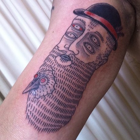 10 любимых татуировщиков Дмитрия Зеленцова. Изображение № 22.