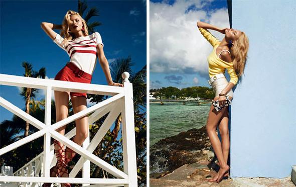 Магдалена Фраковяк на пляже для Vogue Paris. Изображение № 10.