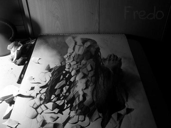 """Изображение 14. Реалистичные 3D рисунки """"в карандаше"""".. Изображение № 14."""
