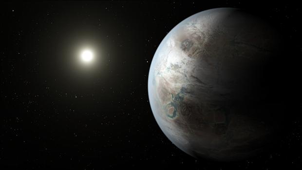 Художественное изображение Kepler-452b. Изображение № 2.