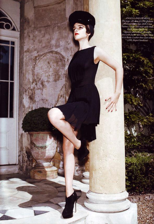 Съёмка: Эмма Уотсон в британском Harper's Bazaar. Изображение № 5.