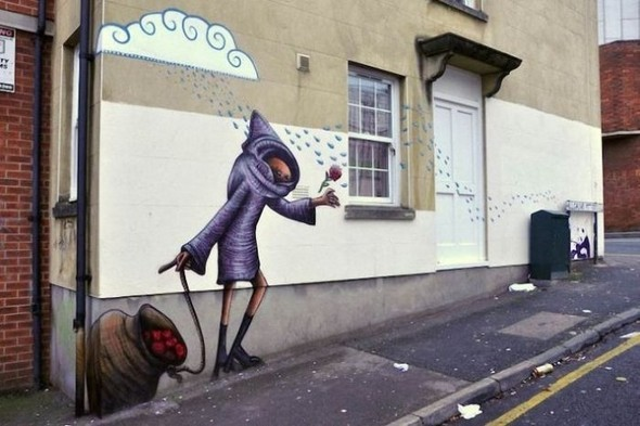 Изображение 1. Бристоль. Художественное граффити.. Изображение № 3.