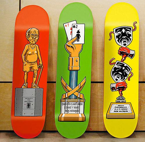 К доске: 10 художников-скейтбордистов. Изображение №95.