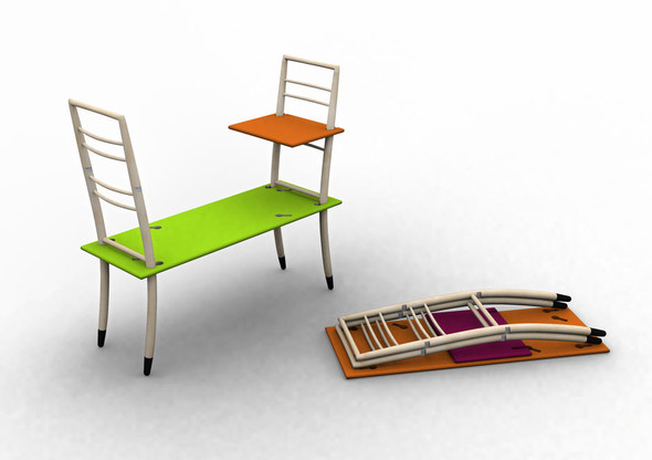 Вариации на тему старинной латвийской мебели от Мартинса Витолса. Изображение № 3.