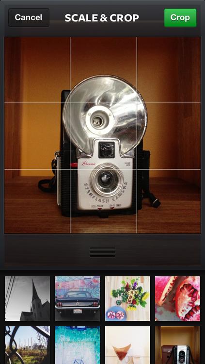 Экран выбора фотографии. Изображение № 1.