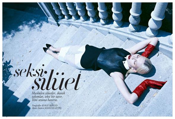 Съемки: Numero, Vogue, W и другие. Изображение №26.