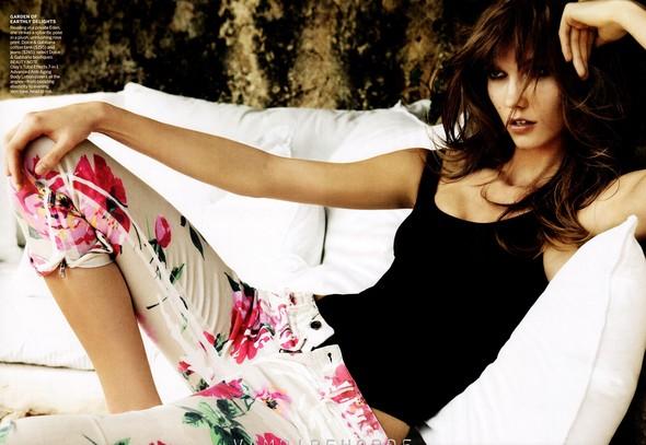 Съёмка: Карли Клосс для Vogue. Изображение № 6.