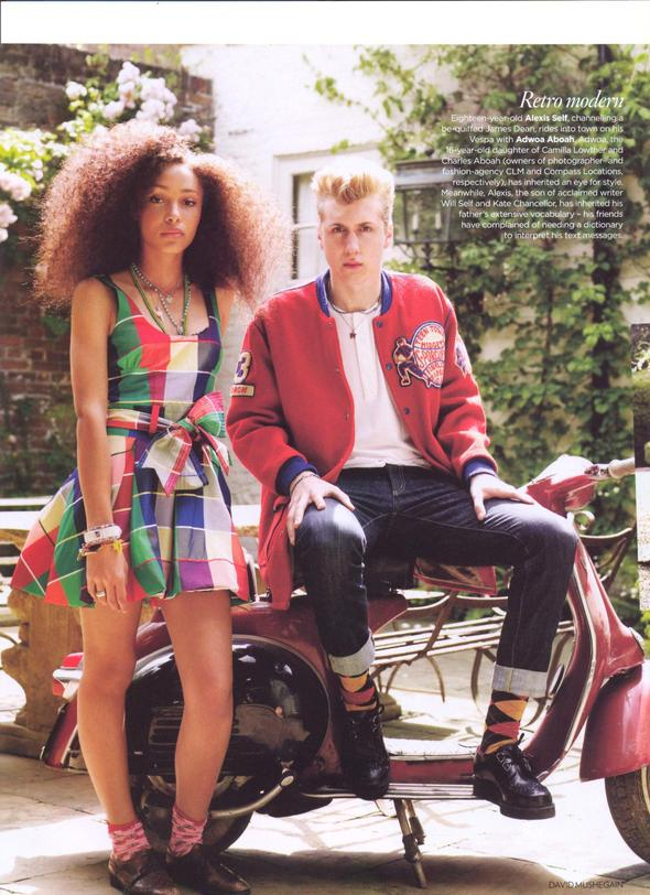 NEW ENGLAND BRIT VOGUE. Изображение № 4.