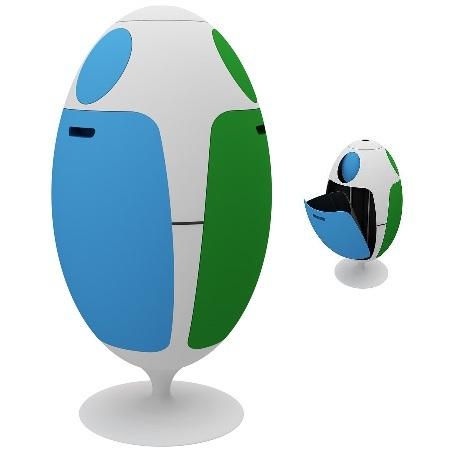 Gianluca Soldi яйцо длямусора. Изображение № 4.