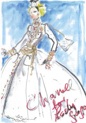 Лагерфельд одел Леди Гагу. Изображение № 2.