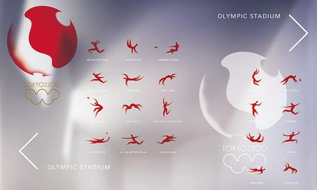 Кения Хара предложил логотип и айдентику для Олимпиады в Токио. Изображение № 7.