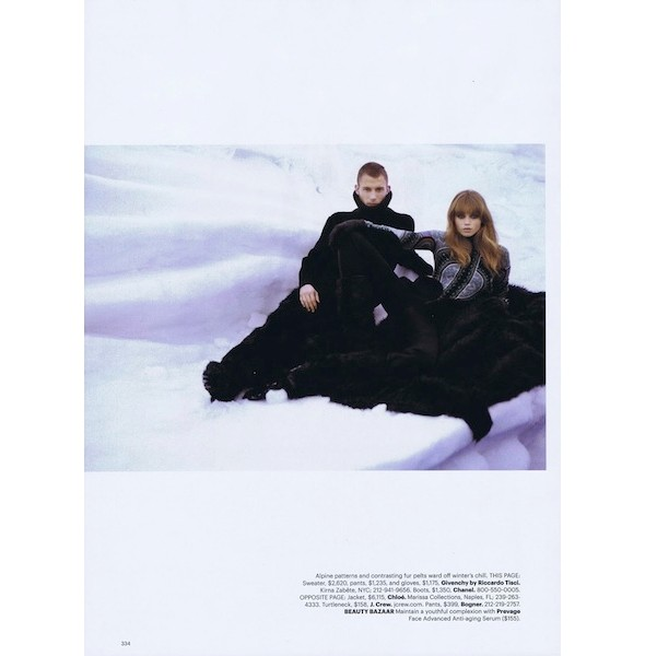 5 новых съемок: Harper's Bazaar, i-D, Numero и другие. Изображение № 4.