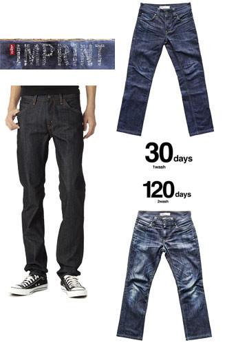 Levis: Imprint. «Быстро стареющие» джинсы Levis. Изображение № 1.