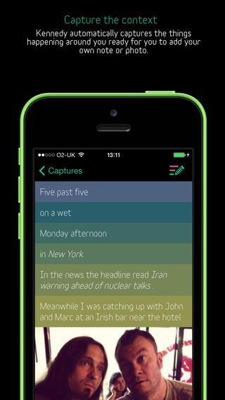 iOS-приложение помогает запомнить контекст событий. Изображение № 1.