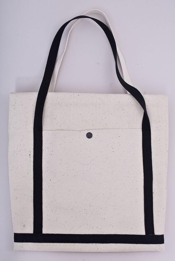 БЕЛОЕ — рюкзаки и сумки из грубого белого хлопка. Изображение № 13.