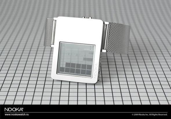 Проекция времени назапястье илипрозрачные Nooka ZAZ. Изображение № 1.