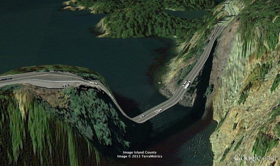 32 фотографии из Google Earth, противоречащие здравому смыслу. Изображение №13.