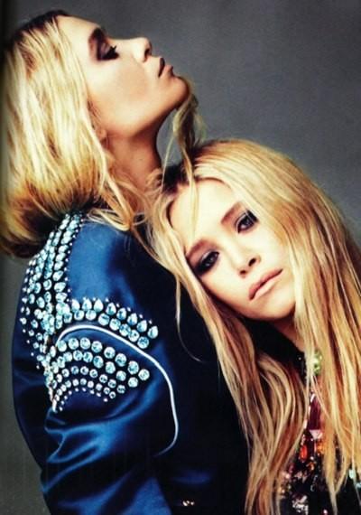 Mary-Kate & Ashley Olsen for UK Elle April 2012. Изображение № 6.