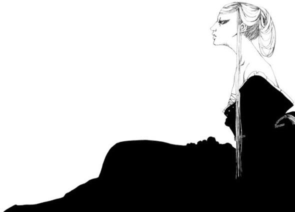 Katsuta Mako – черно-белая грация. Изображение № 32.
