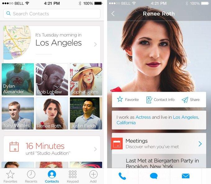Приложение Humin позволит «по-умному» организовать контакты в смартфоне. Изображение № 2.