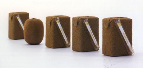 Японский дизайнер продолжил тему «натуральных» упаковок. Изображение № 2.