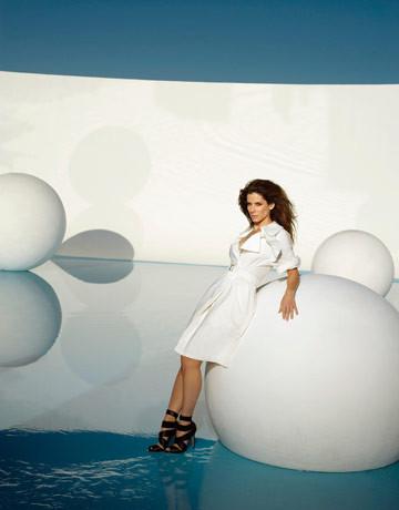 Sandra Bullock, Harper's Bazaar June 2009. Изображение № 5.