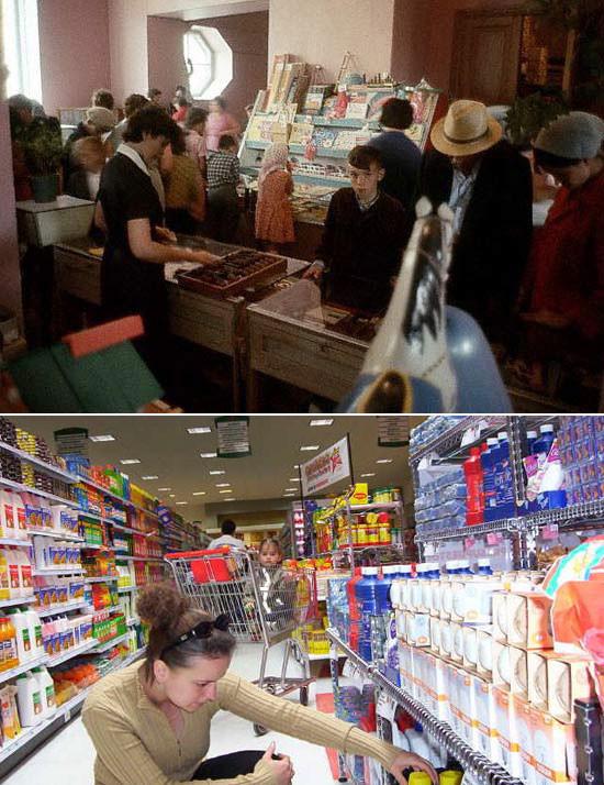 Как изменились прилавки магазинов за 20 лет. Изображение № 21.