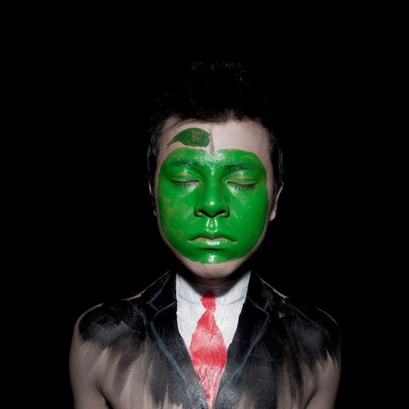 ANDY ALCALA: картины на лице. Изображение № 7.