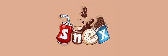 День шоколада. Вкусные шоколадные логотипы. Изображение № 15.