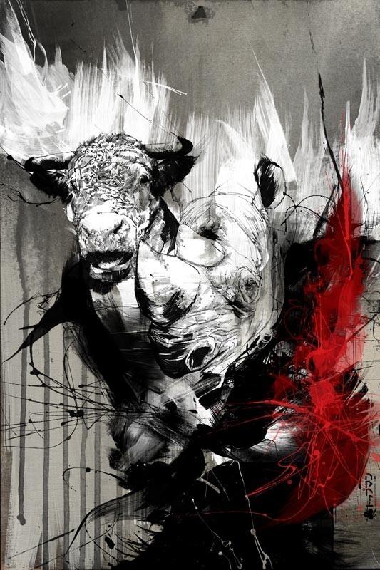Russ Mills : графика, фотография и живопись. Изображение № 20.