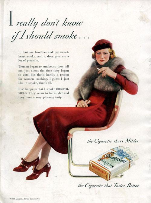 Винтажная реклама табака. Изображение № 23.